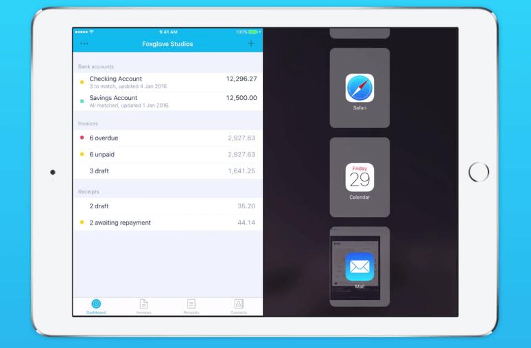 how to close split screen on ipad