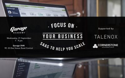 Event Review: Focus on your business, SAAS to help you scale
